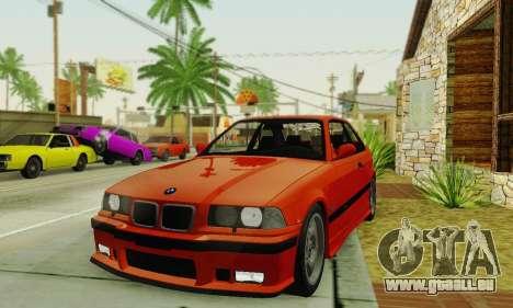 BMW E36 M3 1997 Stock für GTA San Andreas rechten Ansicht