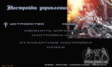 Metal Menu pour GTA San Andreas cinquième écran