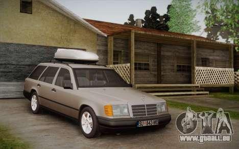 Mercedes-Benz E-Class W124 Kombi pour GTA San Andreas laissé vue