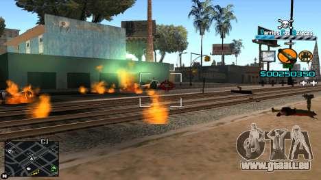 C-HUD RJ Aztecaz pour GTA San Andreas quatrième écran