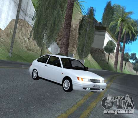 ВАЗ 2112 GVR Version 1.1 pour GTA San Andreas