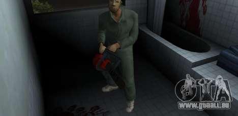 Kettensäge Taiga für GTA Vice City zweiten Screenshot