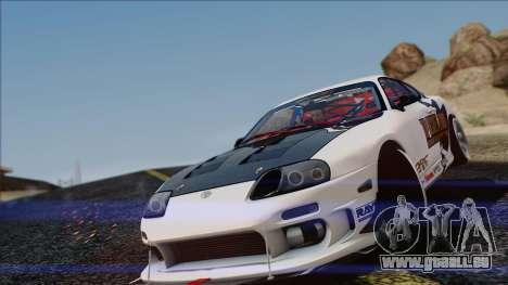 Toyota Supra 1998 Top Secret pour GTA San Andreas laissé vue