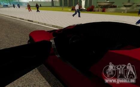 GTA 5 Grotti Turismo für GTA San Andreas rechten Ansicht