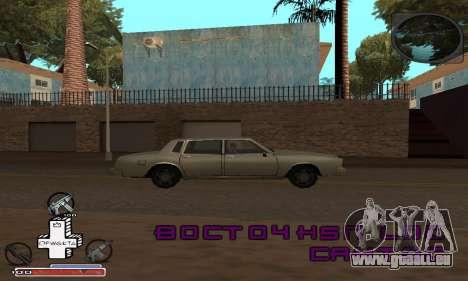 Magnifique C-PALETTE pour GTA San Andreas deuxième écran