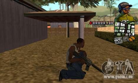 C-HUD Rider pour GTA San Andreas troisième écran