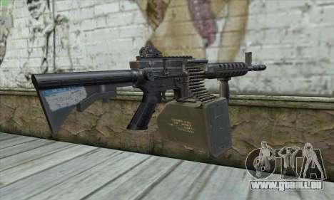 M4 Gunner pour GTA San Andreas deuxième écran