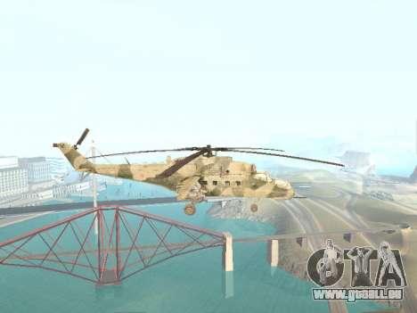 Mi-35M pour GTA San Andreas laissé vue