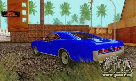 GTA 4 Imponte Dukes V1.0 für GTA San Andreas rechten Ansicht