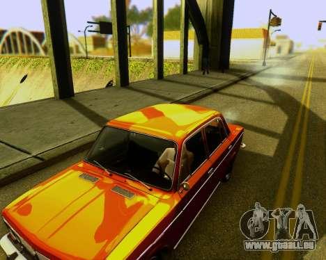VAZ 2103 Accordables pour GTA San Andreas vue arrière