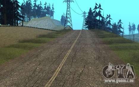 RoSA Project v1.4 Countryside SF pour GTA San Andreas huitième écran