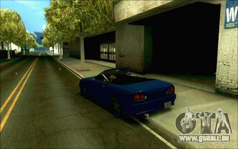 Elegie Tokio Cabrio für GTA San Andreas rechten Ansicht