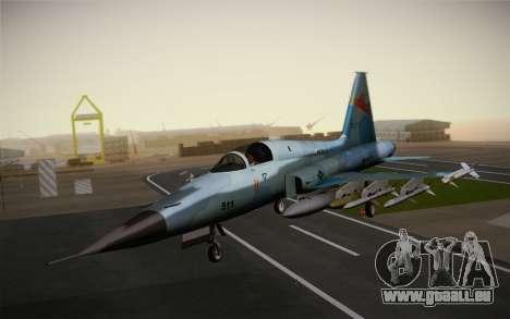 F-5E Tiger II für GTA San Andreas