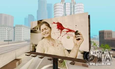 Neue hochwertige Werbung auf Plakaten für GTA San Andreas dritten Screenshot