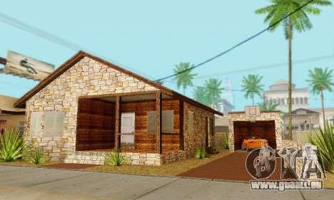 Neues Haus big Smoke für GTA San Andreas siebten Screenshot