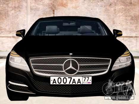 Mercedes-Benz CLS350 2012 pour GTA San Andreas laissé vue