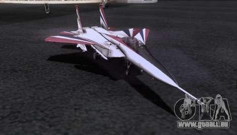 F-15S pour GTA San Andreas vue de côté