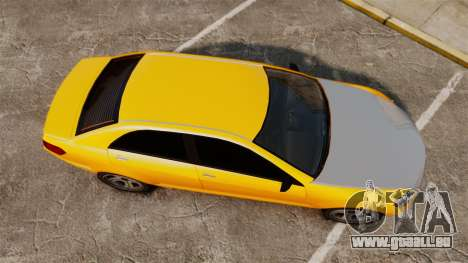 Benefactor Schafter 2014 für GTA 4 rechte Ansicht