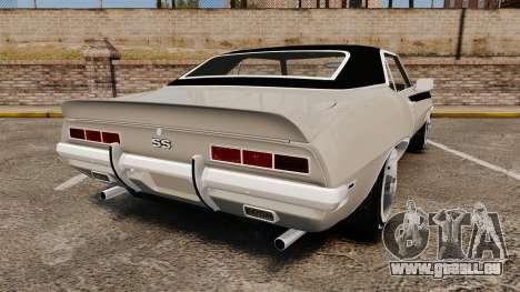 Chevrolet Camaro SS für GTA 4 hinten links Ansicht