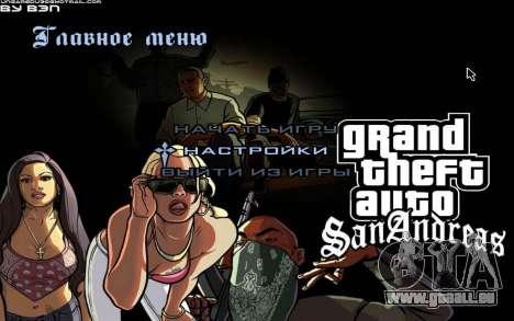 HD-Menüs für GTA San Andreas