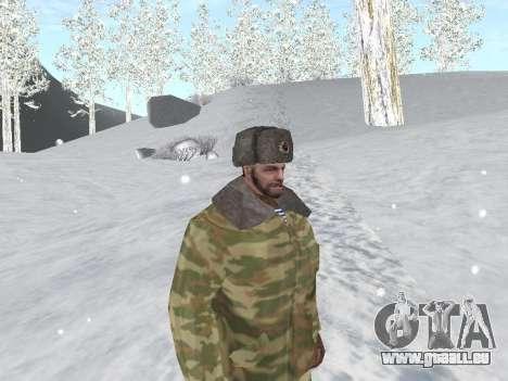 Pak Russischen Armee service für GTA San Andreas siebten Screenshot