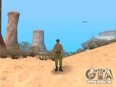 Pak service dans l'armée russe pour GTA San Andreas neuvième écran
