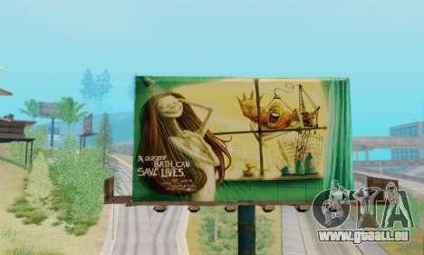 Neue hochwertige Werbung auf Plakaten für GTA San Andreas fünften Screenshot