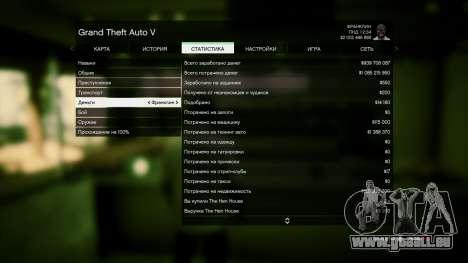 GTA 5 Enregistrer GTA 5 100% et 1 milliard Xbox 360 quatrième capture d'écran