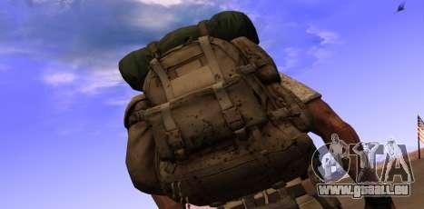 Рюкзак из MOH Warfighter pour GTA San Andreas deuxième écran
