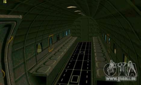 C-47 Dakota RAF für GTA San Andreas Rückansicht