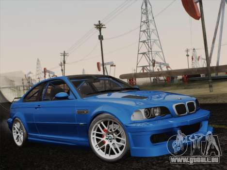 BMW M3 E46 GTR 2005 pour GTA San Andreas