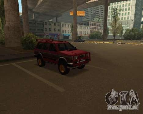 Landstalker V2 pour GTA San Andreas vue de côté