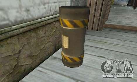 Grenat d'Être Nukem pour GTA San Andreas troisième écran