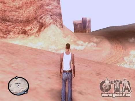 Die neue Karte in HD für GTA San Andreas dritten Screenshot