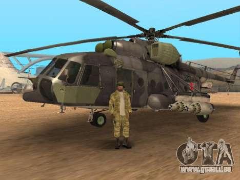 Pak Russischen Armee service für GTA San Andreas elften Screenshot