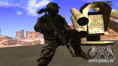 U.S. Navy Seal pour GTA San Andreas huitième écran