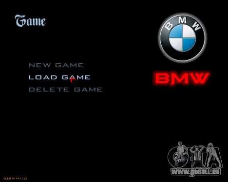 Nouveau menu d'image pour GTA San Andreas