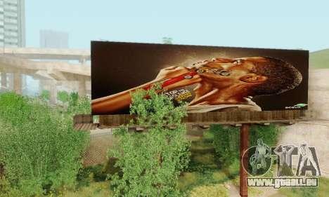 Neue hochwertige Werbung auf Plakaten für GTA San Andreas sechsten Screenshot