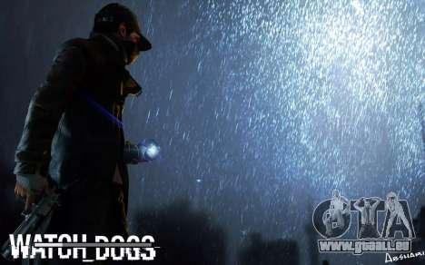 Les écrans de démarrage et de menus Watch Dogs pour GTA San Andreas cinquième écran