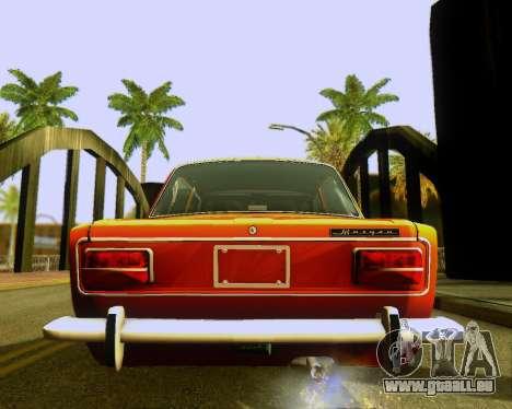 VAZ 2103 Accordables pour GTA San Andreas vue de côté