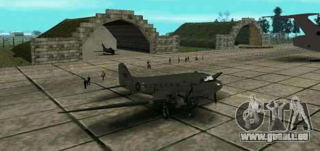 C-47 Dakota RAF pour GTA San Andreas