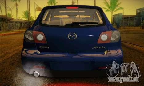 Mazda Axela Sport 2005 pour GTA San Andreas vue de côté