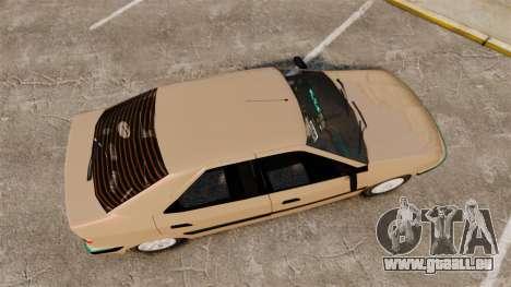 Citroen Xantia für GTA 4 rechte Ansicht