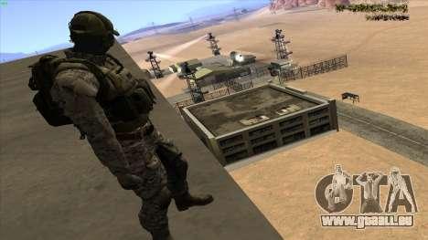 U.S. Navy Seal pour GTA San Andreas troisième écran