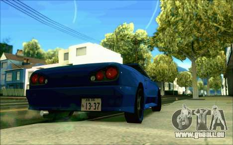Elegie Tokio Cabrio für GTA San Andreas linke Ansicht