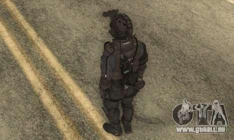 Benutzerdefinierte из CoD:Ghost für GTA San Andreas dritten Screenshot