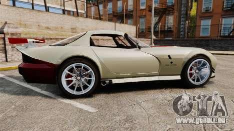 Bravado Banshee GT3 für GTA 4 linke Ansicht