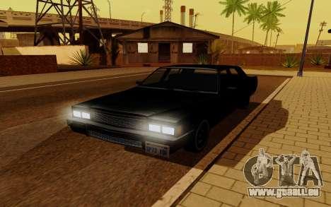 Emperor GTA 5 für GTA San Andreas zurück linke Ansicht