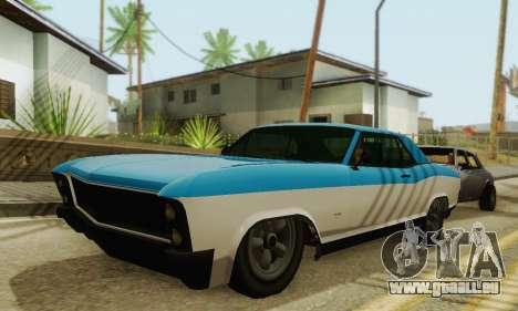 Gta 5 Boucanier mis à jour pour GTA San Andreas laissé vue