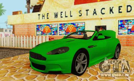Aston Martin DBS Volante pour GTA San Andreas vue intérieure